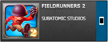 ������� �Fieldrunners 2� [ipa] ��� iPhone/iPod Touch